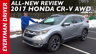 Here's the 2017 Honda CR-V AWD Review on Everyman Driver