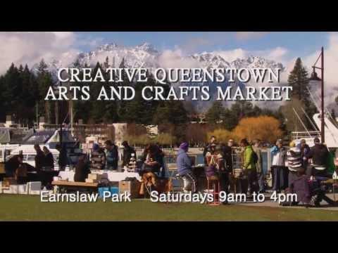 Creative Queenstown Arts and Crafts Market - Queenstown, New Zealand
