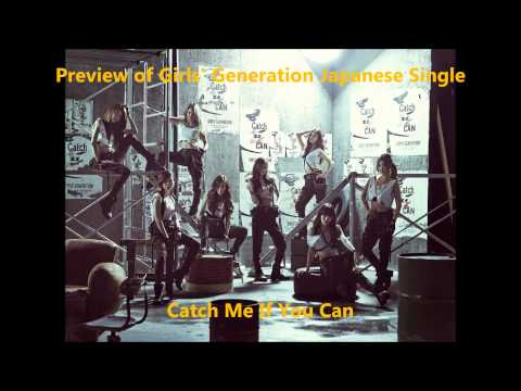 SNSD 소녀시대 少女時代 New Japanese Single - Catch Me If You Can [PREVIEW] + Pre-orders Out Now [LINKS]