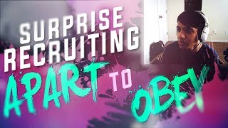 SURPRISE Recruiting #ObeyRC Winner: Apart ft. Divinity!