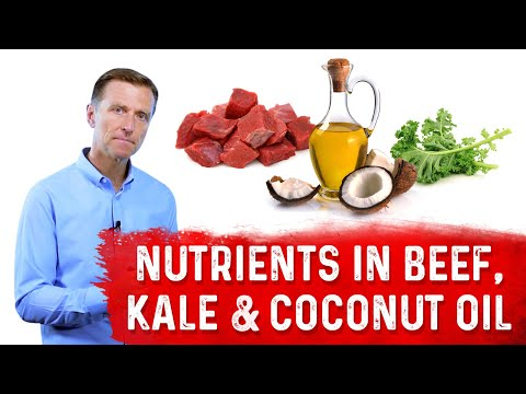 What Has More Nutrients: Beef, Kale or Coconut Oil?