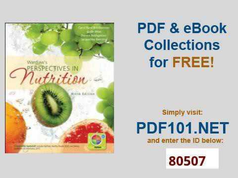 Wardlaws Perspectives In Nutrition Ebook