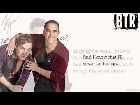 Big Time Rush-Amazing [Lyrics]