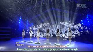 Video T-ara & Davichi - We Were In Love [Perf] [Indo Sub] - 2012.01.15 download MP3, 3GP, MP4, WEBM, AVI, FLV Maret 2018