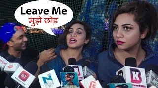 Bigg Boss 11 Contestant Arshi Khan ANGRY At Akash Dadlani For Misbehaving In Public