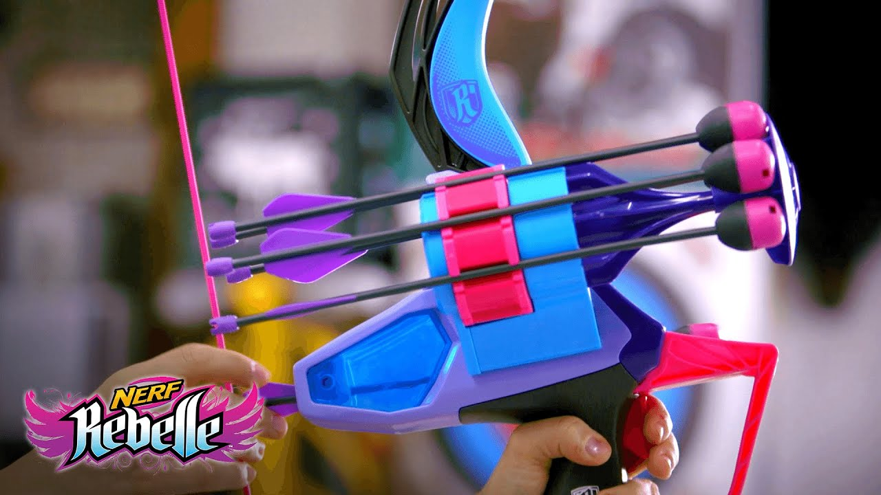 NERF Rebelle Secrets & Spies Arrow Revolution Bow Behind the Bow Featurette