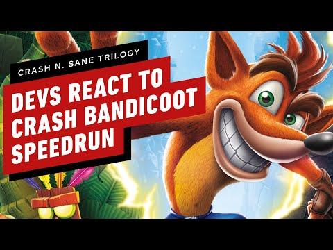 Crash N. Sane Trilogy Developers React To 41 Minute Speedrun