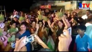 Teej Festival Dance in Suryapet By Banjara Girls   3TV BANJARA