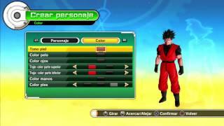 Dragon ball xenoverse i gameplay i ps3 i español i parte 1 creando a nuestro personaje