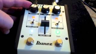 Ibanez ES2 Echo Shifter - Analog Delay Demo