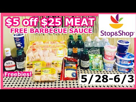 STOP AND SHOP COUPON DEALS HAUL (5/28-6/3)FREEBIE AND CHEAP DEALS 🔥 🔥😱 😱