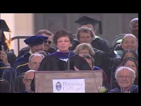 Valerie Jarrett - Pomona College Commencement speech - May 18, 2014