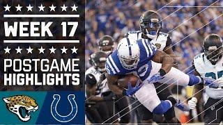 Jaguars vs. Colts | NFL Week 17 Game Highlights