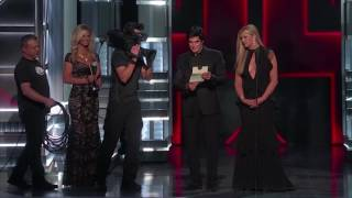 David Copperfield at ACM Awards - Smoke
