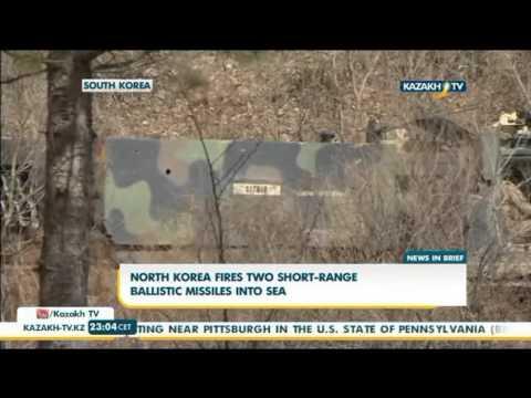 North Korea 'fires short-range missiles' - Kazakh TV
