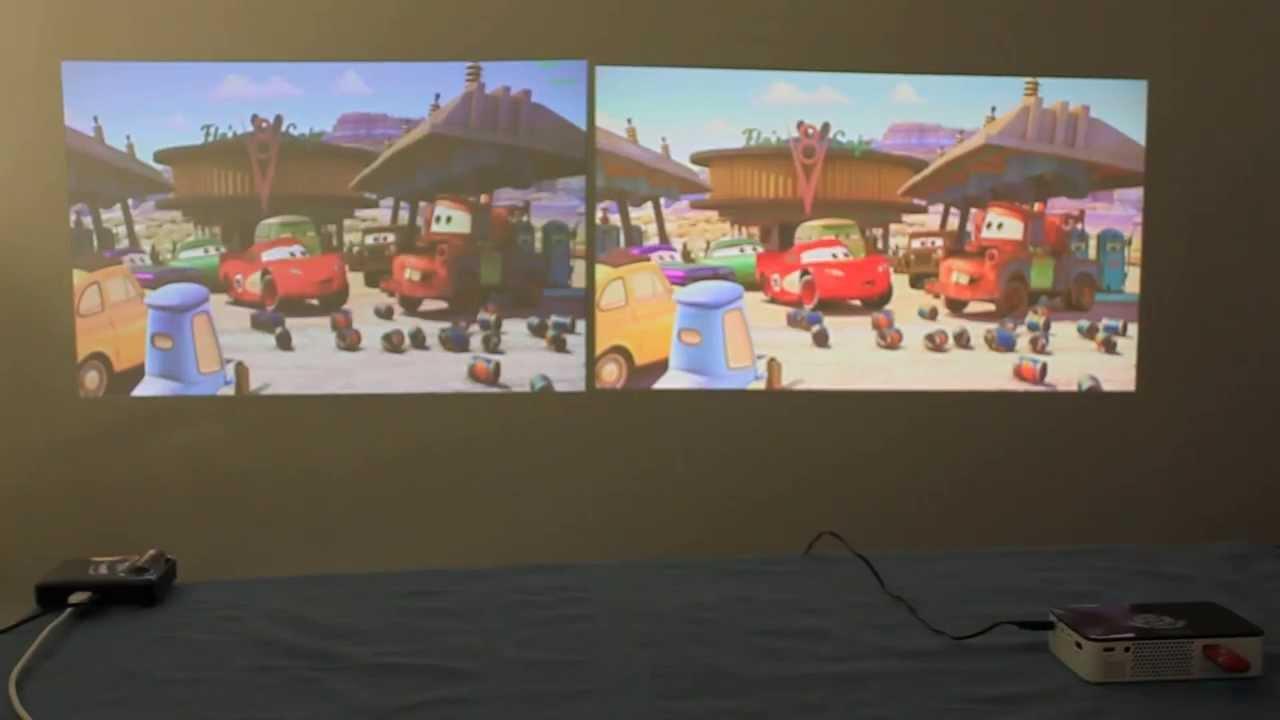 New review brookstone led pocket projectors 720p 200 for Brookstone pocket projector micro