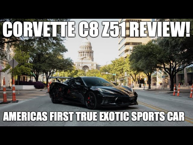 Corvette C8: America's first true exotic sports car.