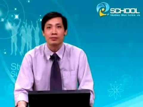 Dao động điều hoà và các bài toán cơ bản - Thầy Nguyễn Anh Vinh