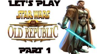 Let's Play Star Wars | SWTOR Jedi Sentinel Playthrough Part 1