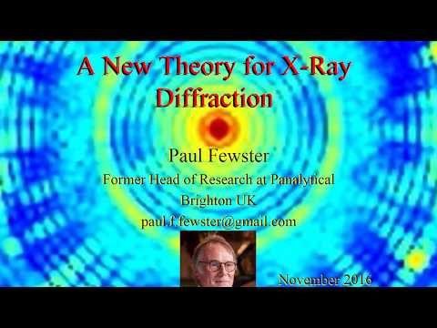 A new theory for X-ray diffraction