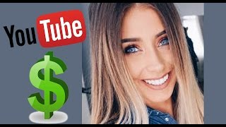 How much does Danielle Mansutti make on Youtube