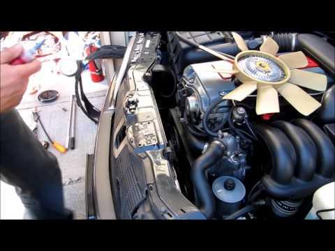 Mercedes Benz W202 C280 Fan Clutch Replacement