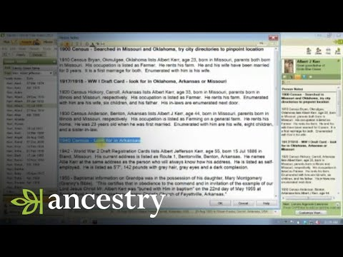 Family History Focus to Grow Your Family Tree