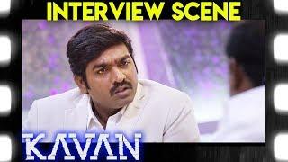 Kavan - Thilak's Interview Scene | Vijay Sethupathi | T. Rajendar | Madonna Sebastian