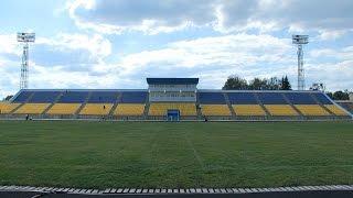 Підрядник за власні кошти переробляє ремонт в легкоатлетичному манежі центрального стадіону Житомира
