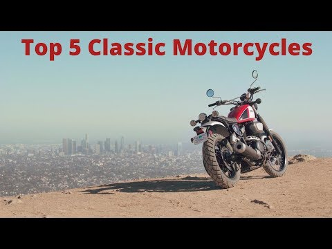 Top 5 Classic/Retro Style Motorcycles