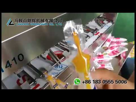 Semi-automatic Filling and Sealing Machine for Juice