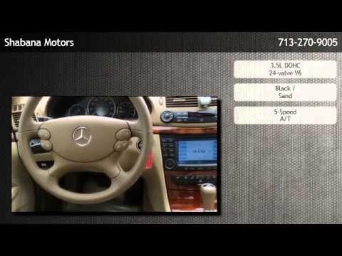 2008 Mercedes Benz E350 4matic Sedan Houston Tx Youtube
