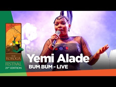 Yemi Alade - Bum Bum (Live at The Koroga festival #QueensRock edition)