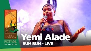 Yemi Alade - Bum Bum Live at The Koroga festival QueensRock edition
