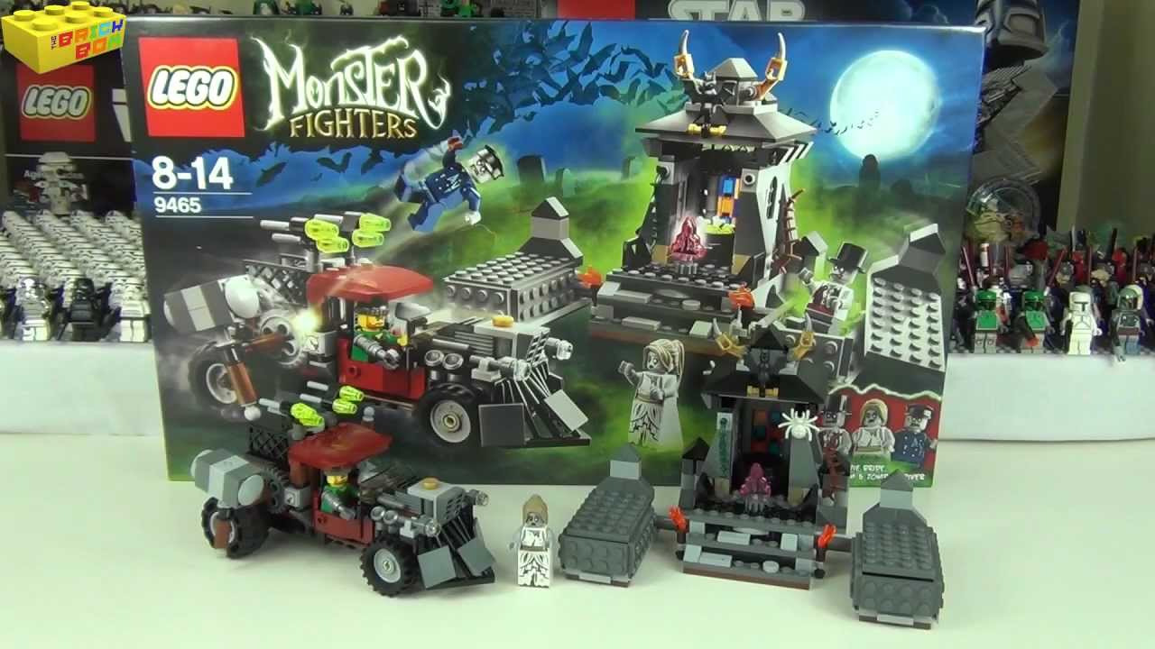 lego monster fighters the zombies set 9465 review youtube - Lego Monstre