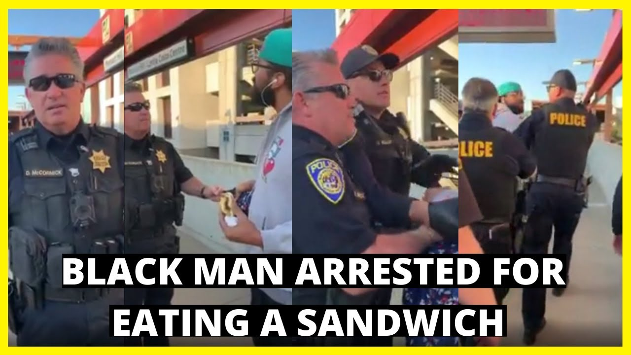 |NEWS| Black Man Arrested At The BART Station For Eating A Sandwich