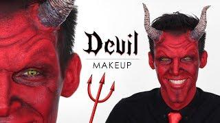 devil makeup