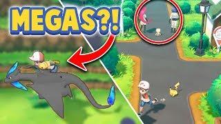 MEGA EVOLUTIONS & NEW GAMEPLAY?! - Pokémon Let's Go Pikachu & Eevee