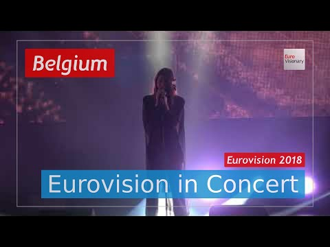 Belgium Eurovision 2018 Live: Sennek - A Matter Of Time - Eurovision in Concert