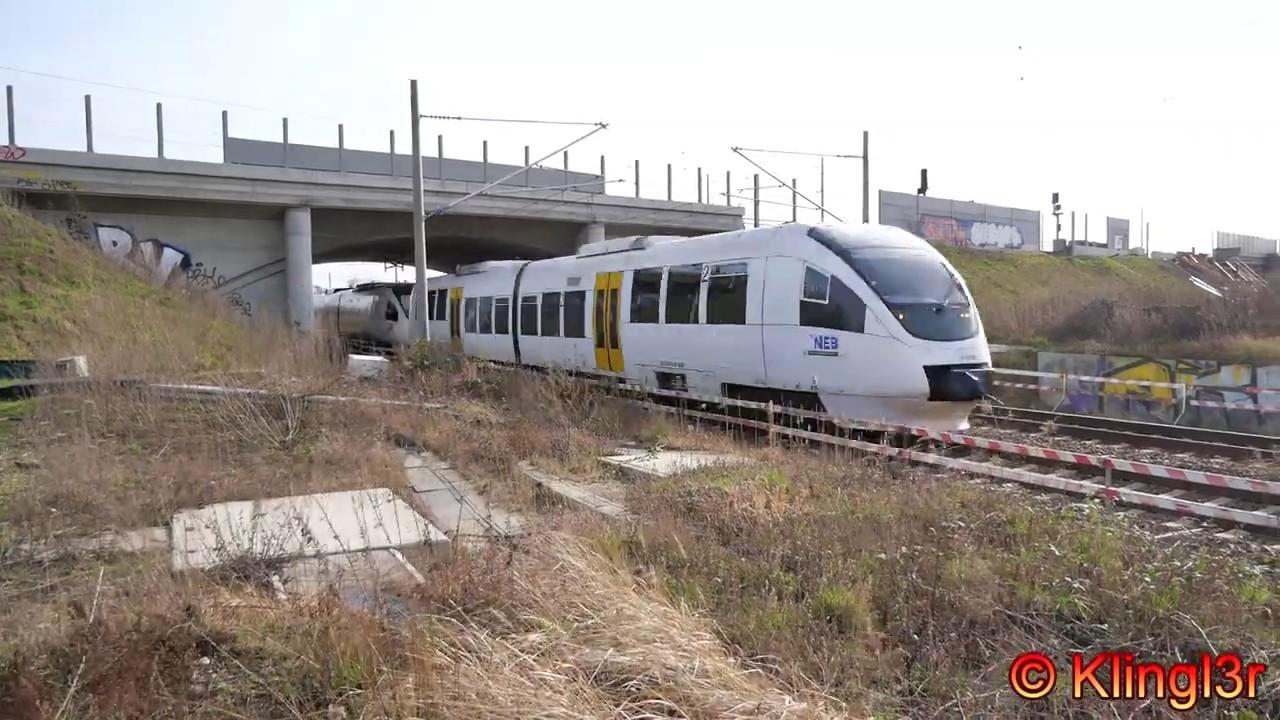 Dauerbaustelle Karower Kreuz - S-Bahn Berlin - Regionalverkehr