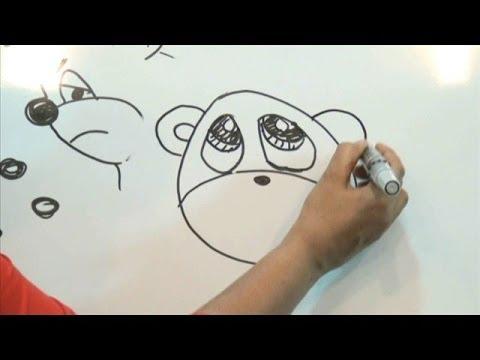 El oso tramposo Cuento-dibujo en Cuenticos - YouTube
