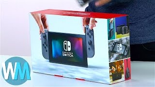 Nintendo Switch UNBOXING! First look at the new console