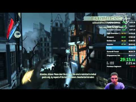 Dishonored - All Collectibles Speedrun in 46:46.94