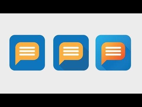 Flat Icon Design Tutorial in Illustrator CC