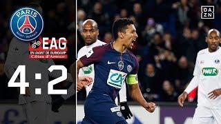 PSG mit Trapp und Draxler weiter: Paris Saint-Germain - Guingamp 4:2 | Highlights | Coupe de France