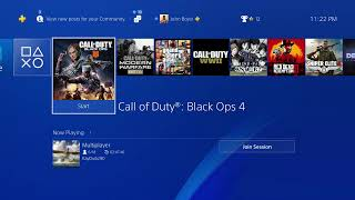 Call of Duty: Modern Warfare and Black Ops 4 plus another game.
