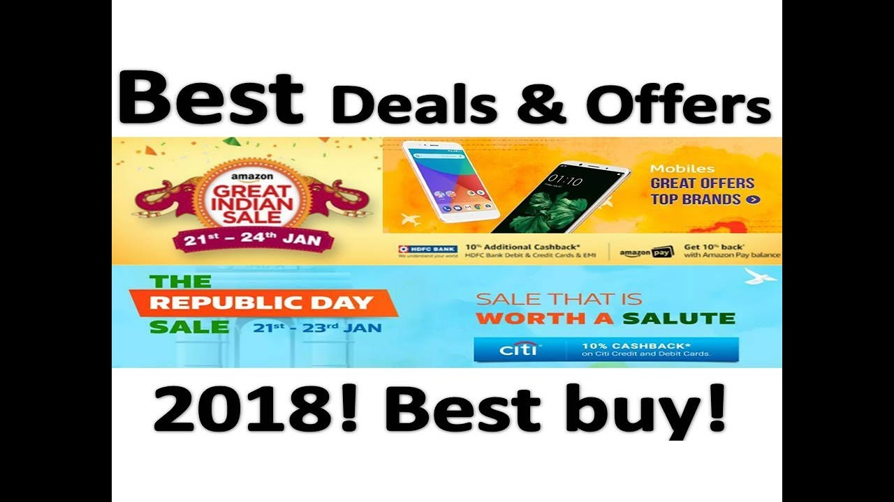 3584dc44a51 Amazon Great Indian Sale is BACK 2018! Best Smartphone to buy  Flipkart  Republic day