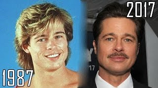 Brad Pitt (1987-2017) all movies list from 1987! How much has changed? Before and Now! streaming