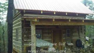 Old Appalachian log home
