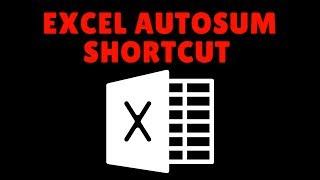 Excel AutoSum Shortcut Plus Excel Tricks